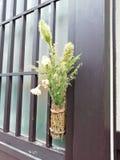 日语Ikebana 库存照片