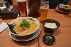 日语ramen 免版税图库摄影