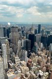 日间纽约地平线 库存图片