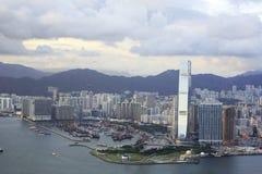 日香港时间视图 免版税库存图片