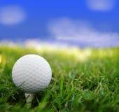 日高尔夫球 库存照片