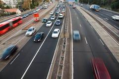 日高速公路hor 图库摄影
