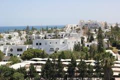日el haouaria好的晴朗的突尼斯视图 库存图片