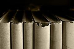 旧书关闭 库存照片