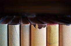 旧书关闭 免版税库存照片