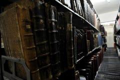 旧书档案 免版税库存图片