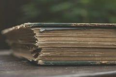 旧书详细资料 库存照片