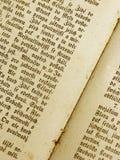 旧书页 免版税图库摄影