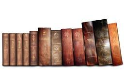 旧书,图书馆 免版税图库摄影