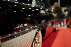 旧时俄国大型高级轿车ZIL 111 免版税库存照片