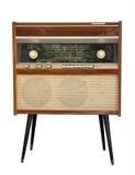 旧时收音机 图库摄影