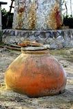 旧时油罐 库存照片