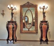 旧时的家具 库存照片