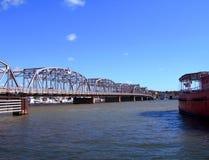 旧时的桥梁 免版税库存照片