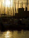 旧港口,马赛 库存照片