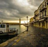 旧港口 库存图片
