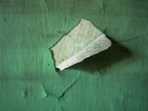 破旧的墙壁油漆 免版税库存图片