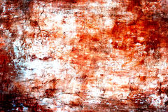 破旧的油漆和膏药镇压 库存例证