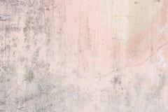 破旧的淡粉红的混凝土墙纹理 图库摄影