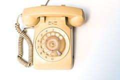 更旧的电话 免版税库存图片