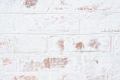 破旧的老砖墙 库存照片