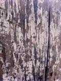 破旧的被绘的木委员会纹理 免版税库存照片