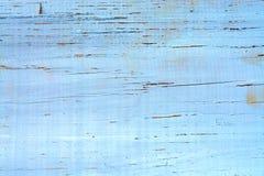 破旧的被绘的木纹理背景 免版税库存照片