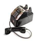 破旧的过时的电话 免版税库存照片