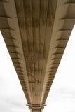 更旧的Severn横穿的下面,吊桥connec 库存照片