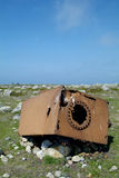 旧货生锈的挪威 免版税库存照片