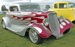 旧车改装的高速马力汽车。 免版税库存图片