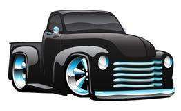 旧车改装的高速马力汽车卡车例证 免版税库存图片
