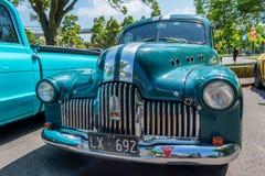 旧车改装的高速马力汽车霍尔顿3 免版税图库摄影