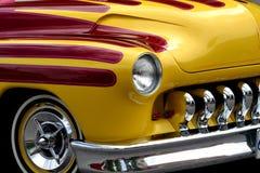旧车改装的高速马力汽车 库存图片