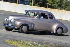 旧车改装的高速马力汽车 免版税库存图片