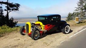1928旧车改装的高速马力汽车 免版税库存照片