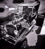 旧车改装的高速马力汽车 免版税库存照片