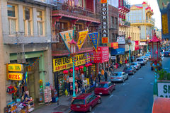 旧金山中国城镇 库存照片