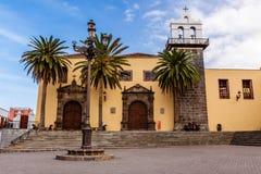 旧金山修道院。 Garachico。 特内里费岛。 免版税库存照片