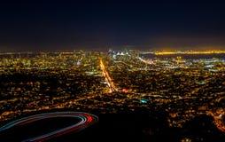 旧金山俯视图  免版税库存图片