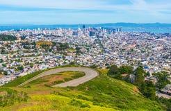 旧金山全景 免版税图库摄影
