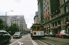 旧金山台车 免版税库存图片
