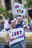 旧金山同性恋自豪日 免版税库存照片