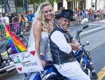 旧金山同性恋自豪日 图库摄影