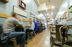 旧金山咖啡馆餐馆 免版税库存图片