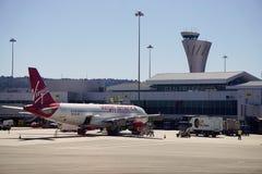 旧金山国际机场(SFO) 免版税库存图片