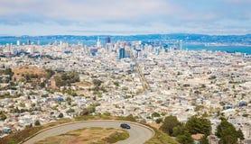 旧金山地平线 免版税库存照片