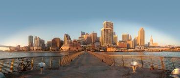 旧金山地平线 免版税库存图片