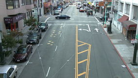 旧金山城市交通时间间隔-夹子1 影视素材