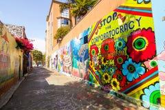 旧金山壁画 免版税库存图片